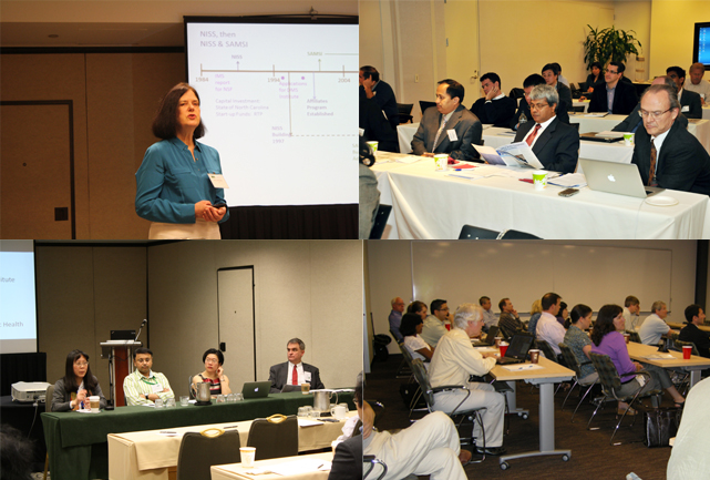 collage of affiliate workshops