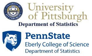 University of Pittsburgh, Department of Statistics, and Penn State Department of Statistics