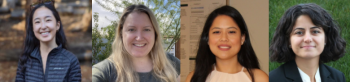 Data Science Panel: Jeanette Jin (Brex), Anne Hanson (Keap),  Ashley Cacho (T-Mobile) and Esra Kurum (UC Riverside)