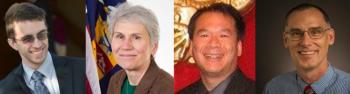 Nathan Cruze (NASS), moderator; Wendy Martinez (BLS), Jonah Wong (US Census) and Jeff Bailey (NASS)