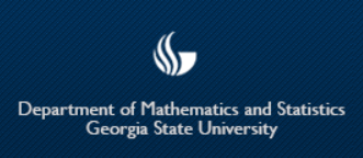Georgia State University Department of Mathematics and Statistics