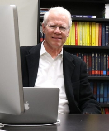 "E. James Harner (West Virginia University), Instructor of the ""Computer Science, Programming, and Tools"" tutorial."