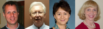 Moderator: Dan Holder (Merck) Speakers: (left to right) Frank Harrel (Vanderbilt University), Amy Xia (Amgen) and Telba Irony (FDA).