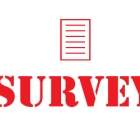 the word survey with a survey above it