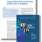 Affiliate Career Advice Meet-up Featured in July, 2019 AMSTAT News