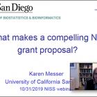 Dr. Karen Messer, UC San Diego