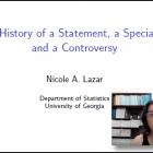 Nicole Lazar, University of Georgia