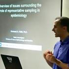 Hormuzd Katki, (National Cancer Institute), provides an overview for the workshop