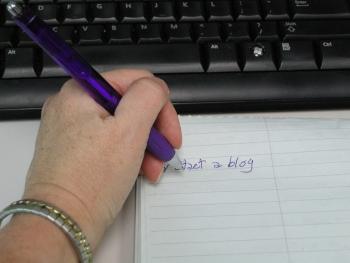 To do list - write a blog