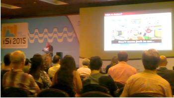 Steve Fienberg speaking at ISI