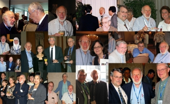 collage of photos of Dr. Olkin