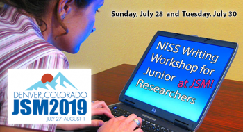 NISS Writing Workshop for Junior Researchers at JSM 2019