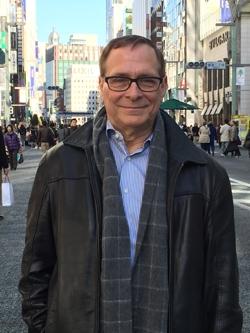 Ray Bain in Tokyo