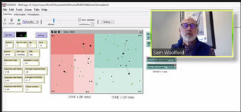 Sam Woolford (Bentley University) provides a live demo of the application that was developed for determining the frequency and response times of leaks for a gas utility company.