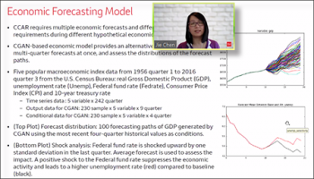 Jie Chen (Wells Fargo) describes the utility of an economic forecasting model.