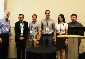 James Rosenberger (discussant), Siddhartha Dalal, Christopher Holloman, Andrew Smith, Jie Chen and Lingzhou Xue.