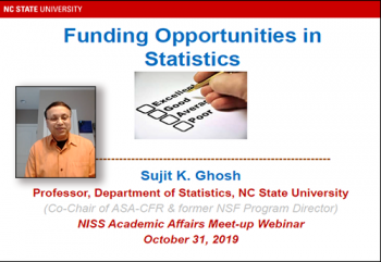 Dr. Sujit Ghosh, NC State University
