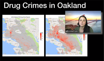 Kristian Lum (University of Pennsylvania) reviews an example involving predictive policing in Oakland, CA.