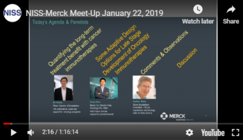 NISS-Merck Meetup: Statistical Challenges in Immuno-Oncology