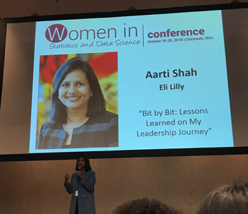 Plenary Speaker Aarti Shah from Eli Lilly