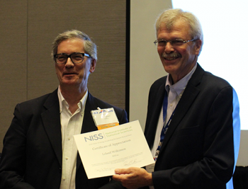 Lee Wilkinson also recognized for his ten years of participation in this workshop!