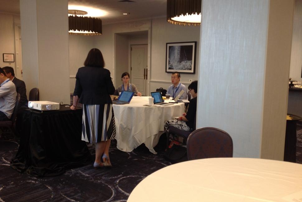 2016 NISS Writing Workshop Lunch