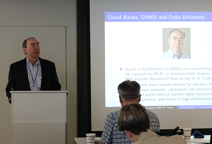 Discussion Leader:  David Banks -  Statistical & Applied Mathematical Sciences Institute (SAMSI), Director; Duke University, Profesor, Department of Statistical Science