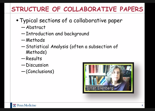 Susan Ellenberg talks about collaborative writing.