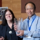 Jiming Jian receives the Former Postdoc Achievement award