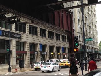 Chicago traffic signal